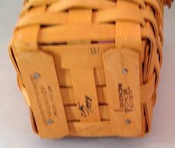 Longaberger 1998 Horizon of Hope Basket Combo Tie on Protector Liner - $24.45