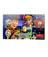 Disney Pixar Toy Story 4 800 Sticker Activity Pad Play Scenes Age 3+ Woody Buzz  - $11.99