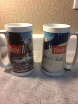 (2) VINTAGE THERMO-SERV COORS BEER INSULATED MUGS---USA---FREE SHIP--VGC - $26.98