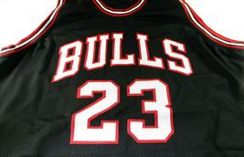 MICAHEL JORDAN / NBA HALL OF FAME / AUTOGRAPHED CHICAGO BULLS CUSTOM JERSEY COA image 2
