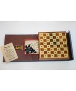 Drueke Vol. 101 Vintage Miniature Checkers Board Game  #2451 - $23.00