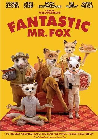 Fantastic Mr. Fox (DVD Used VG) Children's Movie