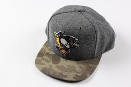 New Sample CCM ADIDAS Pittsburgh Penguins Hockey NHL Snapback Camouflage... - $37.77