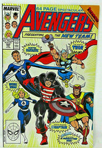 Avengers Vol. 1 No. 300 1989 Square-Bound Comic New Line-Up Inferno X-Ov... - $9.49