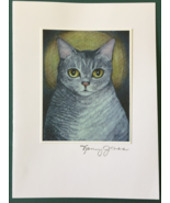 Cat Art Notecard - Lily 2 - $4.50