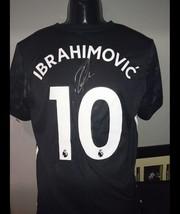 Zlatan Ibrahimovic hand signed Manchester United shirt with Coa  - $300.00