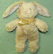 """10"""" Commonwealth TAN BUNNY RABBIT 2012 Plush Stuffed Neck Ribbon Animal ... - $18.70"""