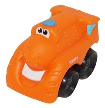 "TRAIN PLAYSKOOL CAR - VINYL TOY 2.25"" FIGURE HASBRO VEHICLE USED 2008 - $6.88"