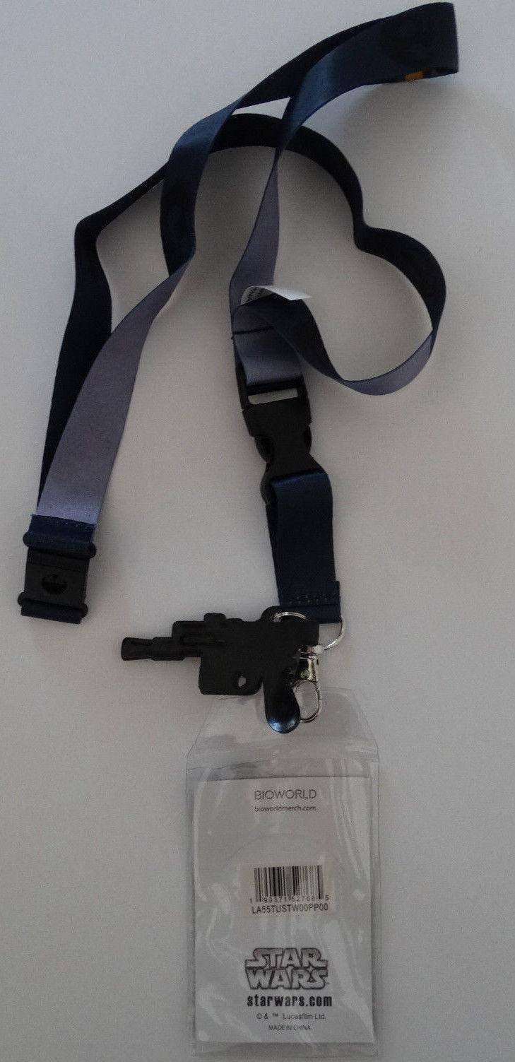 Star Wars Han Solo ID Badge Holder Keychain Lanyard