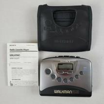Sony Walkman WM-FX251 Radio / Cassette Player, Radio Works  For Parts or... - $11.99