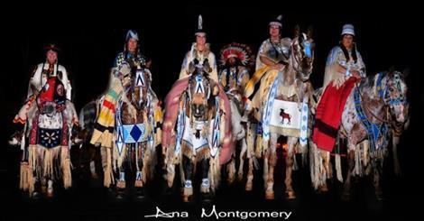 NATIVE AMERICAN CELEBRATIONS! NIGHT RIDER ~ HORSE RHYTHM BEADS ~ Horse 54 Inches