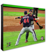Daniel Hudson & Yan Gomes Celebrate the 2019 World Series-16x20 Photo on... - $89.99