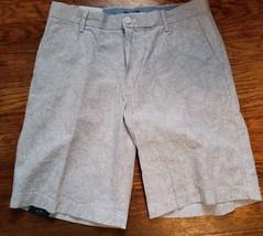 IZOD NEW Mens Shorts Khaki 30 32 36 40 42 38  Bay Seersucker Flat Front ... - $24.99