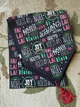 Christmas Table Runner Wording Joy Noel Happy Holidays Jolly Fa La La 70... - $16.82