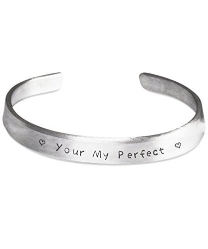 Your My Perfect Stamped Bracelet