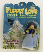 Puppet Love Mego Snow White Fairy Tail Finger Puppet Vintage 1977 Sealed - $12.82