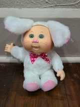 Cabbage Patch Kids Cuties White Bunny Rabbit Plush Doll - $13.54