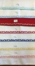 "Zweigart Stitch Band 7320 Fabric Banding for Needlework Cross Stitch ""Bows"" - $7.90"