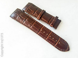 New brown leather strap Watchband Tissot T035617A T035439A 23mm without ... - $24.70