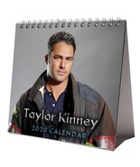 Taylor Kinney Desktop Calendar 2020 NEW + FREE GIFT 3 Stickers Sexy Hot ... - $15.99