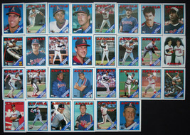 1988 Topps California Angels Team Set of 35 Baseball Cards With Traded - $6.00