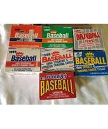 1987 Fleer Update Baseball Factory Set Lot. 1985 1986 1987 1988 1989 199... - $124.99