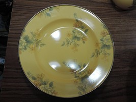 MacKenzie-Childs Yellow Floral Camp 1995 Vintage Salad Soup Bowl 8 avail... - $59.40