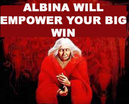FREE W $49 ORDERS ALBINA WILL EMPOWER YOUR BIG WIN MAGICK MAGICKALS - $0.00