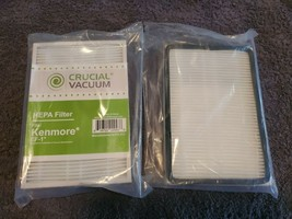 New Crucial Vacuum Replacement Kenmore EF-1 Vacuum Filter (lot of 2) - $11.76