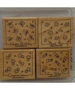 Stampin' Up! Fabulous Four Rubber Stamp Set - $3.36