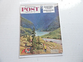 Saturday Evening Post Magazine August 13, 1955 Complete - $9.99