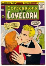 Confessions of The Lovelorn #92 1958-Ugly Duckling Fat girl story F/VF - $119.80