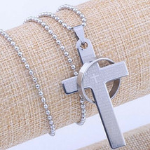 Cross And Ring Necklace ** 9013 ** >> Mystery Item Included - $3.96