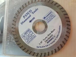 Panco Diamond Tools 3.38 Turbo Rim Blade - $12.86