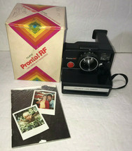 Polaroid Pronto! RF Land Camera w/ Box Uses SX-70 Film Vintage - $25.47