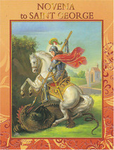 Novena to Saint George 12 Pages with Illustrations - EB292 - Cromo Printed Italy - $4.49