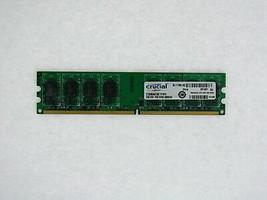 Crucial CT25664AA1067 2GB 1066MHz (PC2 8500) DDR2 Non-ECC Desktop Memory - $32.55