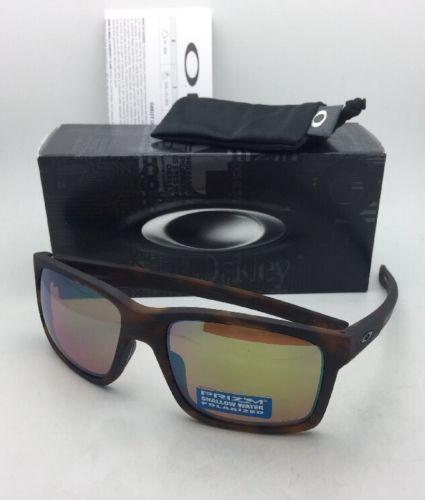 Polarizzati Oakley Occhiali da Sole Mainlink OO9264-22 Opaca Tartaruga W/ Prisma