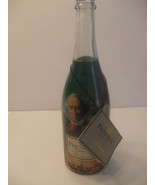 EMPTY Collectable President Cuvee Famous Canadians Champagne Bottle  2001 - $21.78