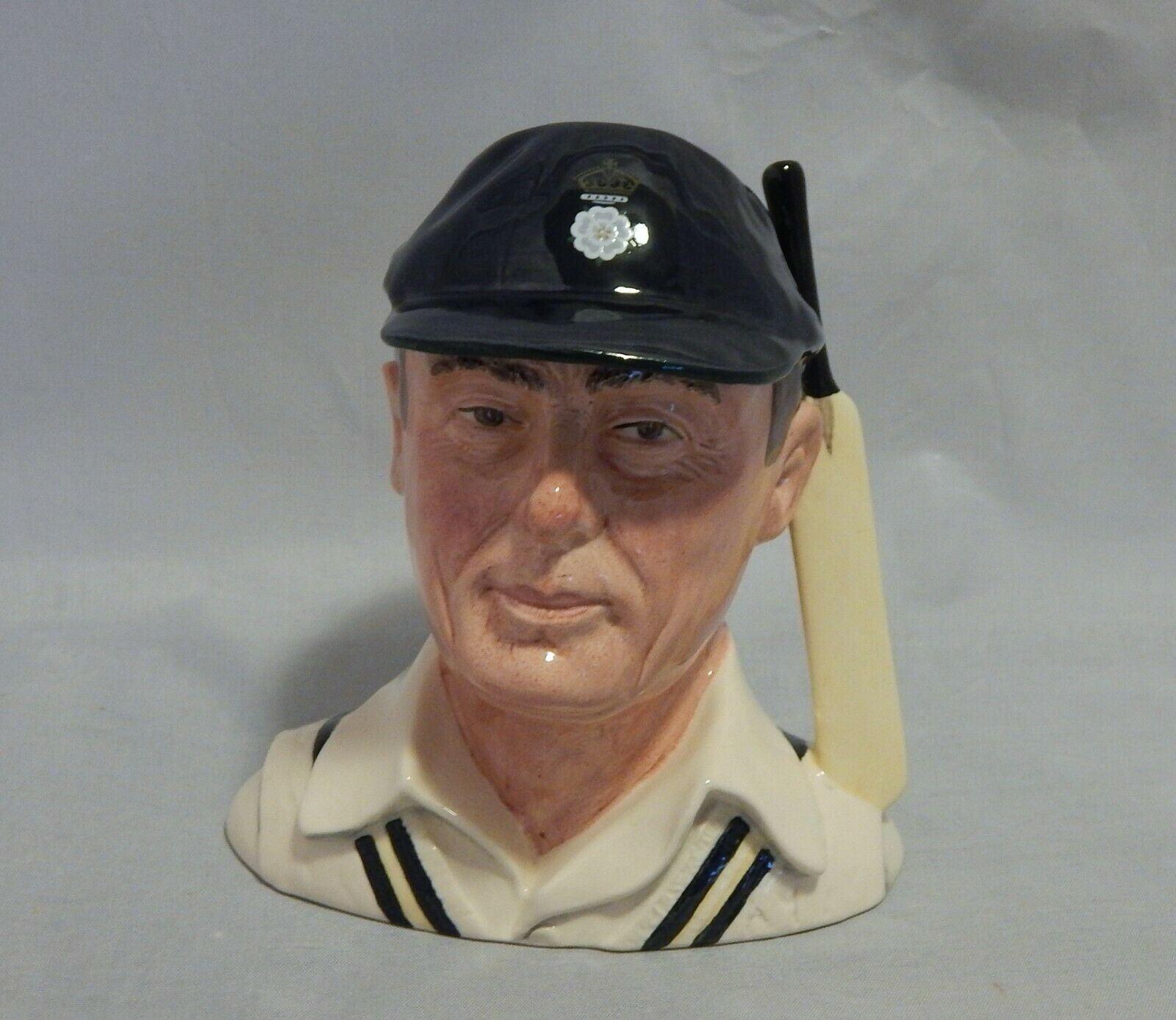 Royal Doulton The Hampshire Cricketer Toby Jug D 6739