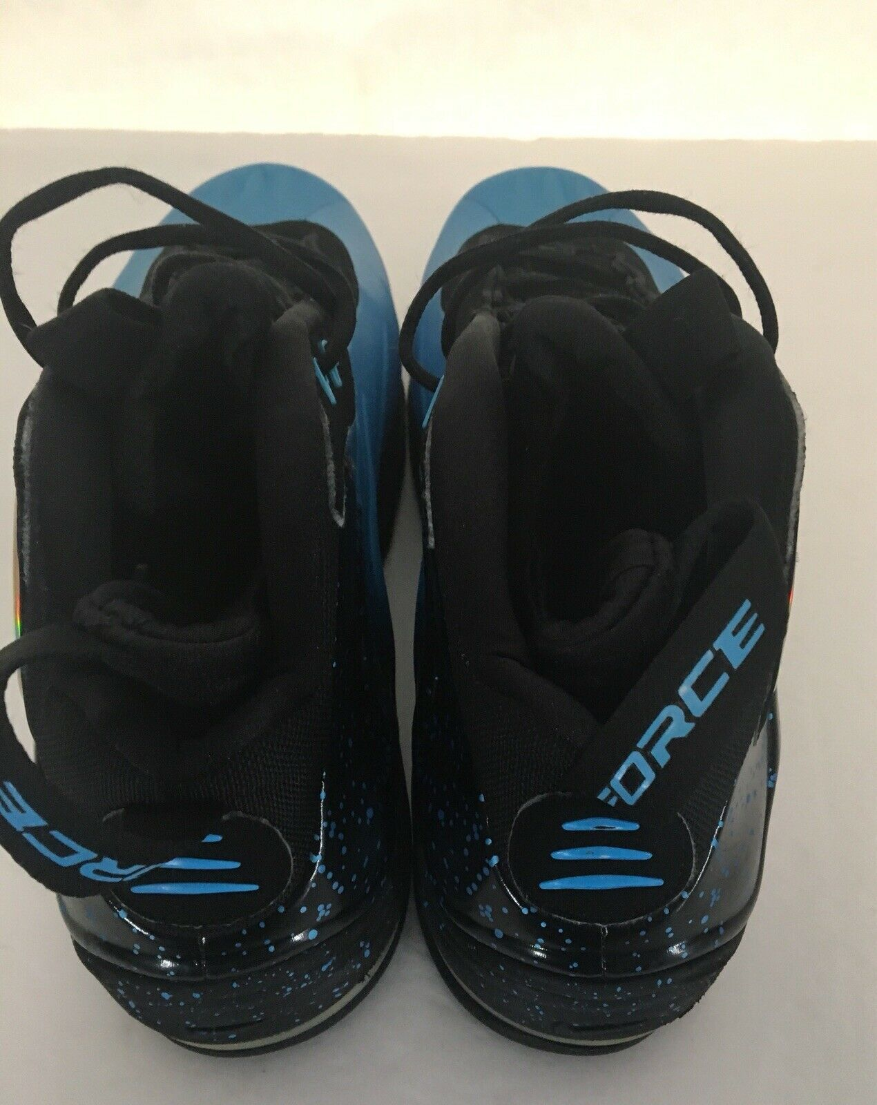 Nike Total Air Max Foamposite Tim Duncan Mens Athletic Basketball Shoes Sz 13 M