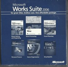 Microsoft Works Suite 2006 DVD-ROM Brand New Still Factory Sealed With Key - $49.99