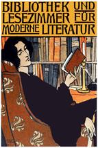 2992.Bibliothek und lese zimmer fur modern literature Poster.Library.Hom... - $10.45+