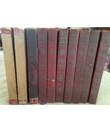 """ANTIQUE BOOK SET of (10) books """"WORLD'S ESSENTIAL KNOWLEDGE"""" dated 1929 - $36.26"""