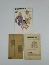 New UC Vtg 1970s Butterick Sewing Pattern 6583 sz 12-14 Girl's Collared ... - $6.50
