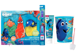 Disney Finding Dory Bath Time Set with Toothbrush, Toothpaste, & Rinse Cup - $39.99
