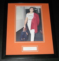 Vinny Testaverde Italian Stallion Signed Framed 11x14 Photo Display JSA ... - $42.18