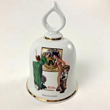 Back To School Norman Rockwell - September 1979 Danbury Mint Bell - $23.93