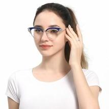 Glasses Reading Rhinestones Cat Eye Ladies Eyeglasses Reader - $17.67+