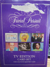 Trivial Pursuit TV Edition 1991 - Card Set for Use With Master Game - $15.00